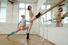 hot nude ballet dancers